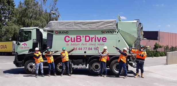 CuB'Drive, le béton fait chez vous !
